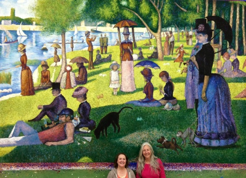 """Drop, George Seurat""""s """"La Grande Jatte"""" Guthrie Theater production of """"Summer in the Park With George"""""""
